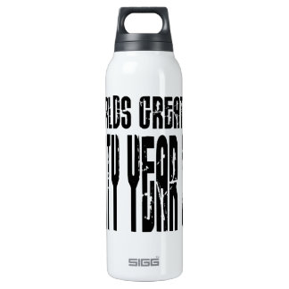 60th Birthday 60 World's Greatest Sixty Year Old 16 Oz Insulated SIGG Thermos Water Bottle