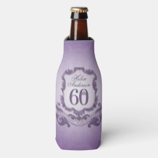 60th Birthday Celebration Personalized Cooler