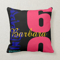 60th Birthday Celebration Personalized POP Pillow