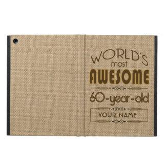 60th Birthday Celebration World Best Fabulous iPad Air Covers
