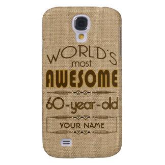 60th Birthday Celebration World Best Fabulous Samsung S4 Case