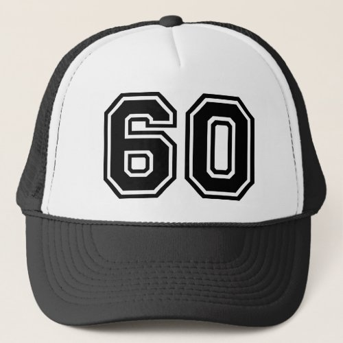60th Birthday Classic Trucker Hat