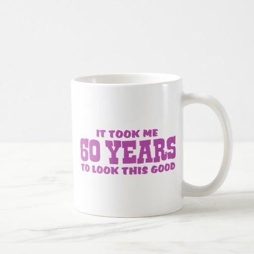 60th Birthday Coffee Mugs