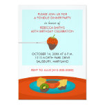 60th Birthday Fondue Dinner Party Invitations