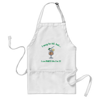 60th Birthday Gag Gift Adult Apron