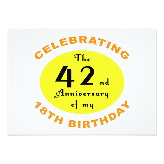 60th Birthday Gag Gift Card