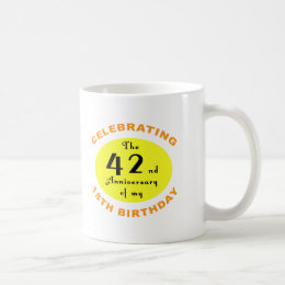 60th Birthday Gag Gift Coffee Mug