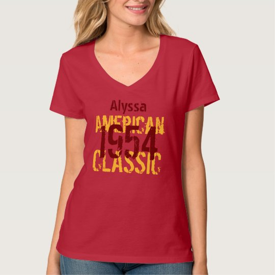 60th Birthday Gift 1954 or Year Classic Z322 T-Shirt