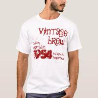 60th Birthday Gift 1954 Vintage Brew V07M T-Shirt