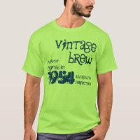60th Birthday Gift 1954 Vintage Brew V07N T-Shirt