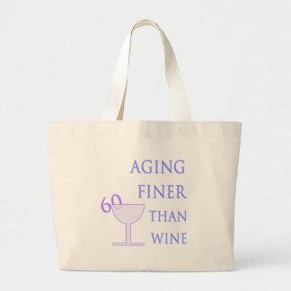 60th Birthday Gift Idea Canvas Bags