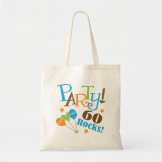60th Birthday Gift Ideas Canvas Bag