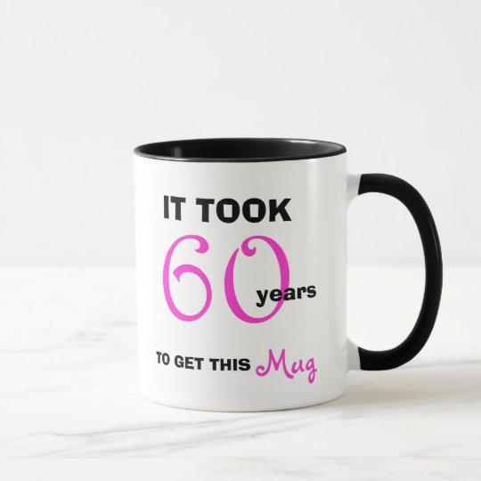 & 60th Birthday Gift Ideas for Her Mug - Funny | Zazzle.com