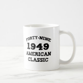 60th Birthday Gifts 1949 American Classic Coffee Mugs