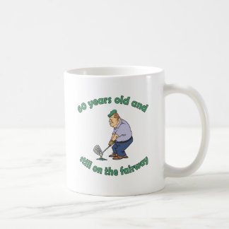 60th Birthday Golfer Gag Gift Coffee Mug