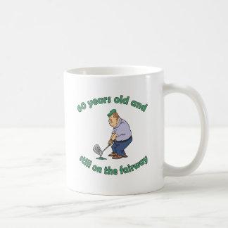 60th Birthday Golfer Gag Gift Coffee Mugs