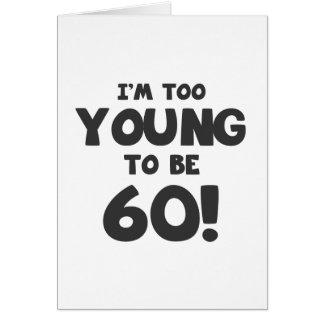 60th Birthday Humor Greeting Cards