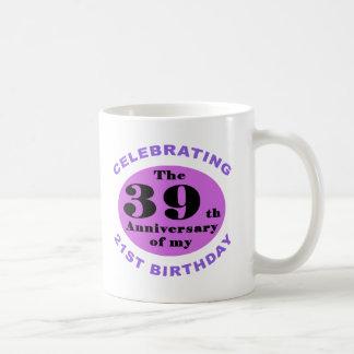60th Birthday Humor Coffee Mug