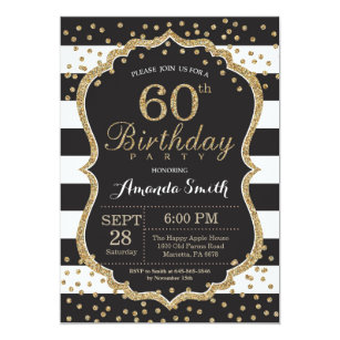 black and gold invitations zazzle
