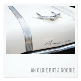 60th Birthday Invitation - Car Lover Oldie Goodie