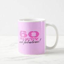 60th Birthday mug for women | 60 and fabulous!
