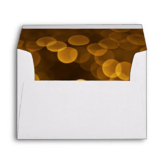 60th Birthday Party Gold Sparkler Envelope