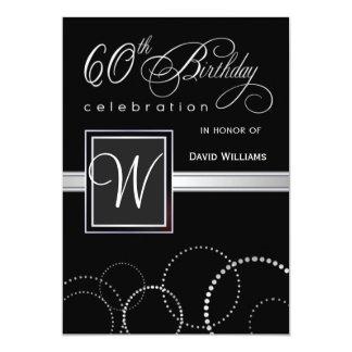 60th Birthday Invitations & Announcements   Zazzle