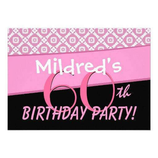 Custom 60Th Birthday Invitations is great invitation ideas