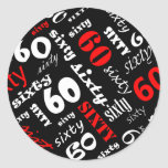 60th Birthday Party Sticker