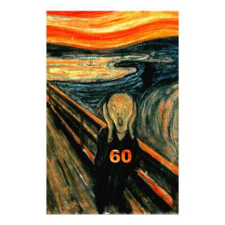 60th Birthday Stationery