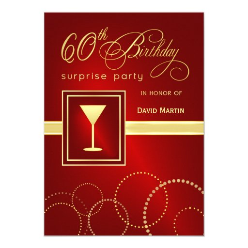 Surprise 50 Birthday Party Invitations is good invitation example