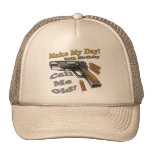 60th Birthday T-shirts and Gifts Mesh Hats