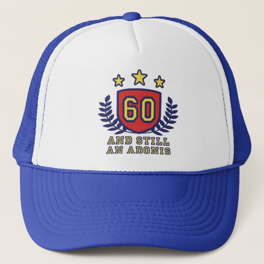 60th Birthday Trucker Hat