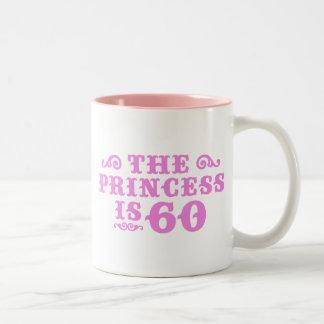 60th Birthday Two-Tone Coffee Mug