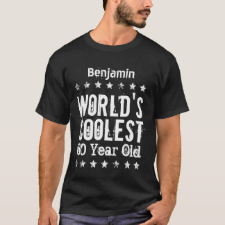 60th Birthday World's Coolest 60 Year Old B05 T-Shirt