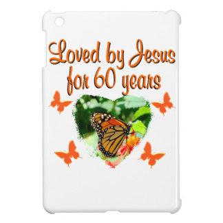60TH BUTTERFLY BIRTHDAY DESIGN iPad MINI COVER