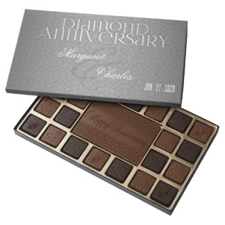 60th Diamond Anniversary | Custom Chocolates