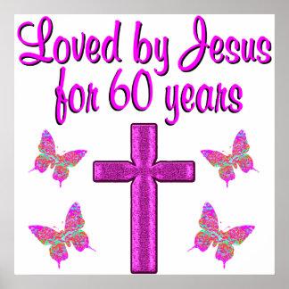 60TH LOVING JESUS POSTER