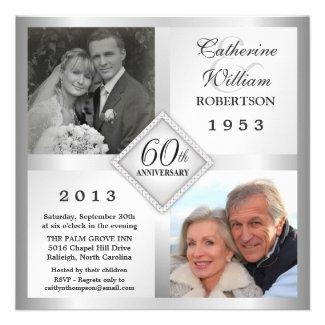 50th Wedding Anniversary Invitations 26 Epic th Silver Diamond Anniversary