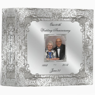 "60th Wedding Anniversary 2"" Photo Binder"