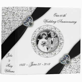 60th Wedding Anniversary Binder