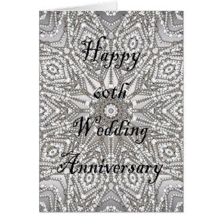 60th Wedding Anniversary Card