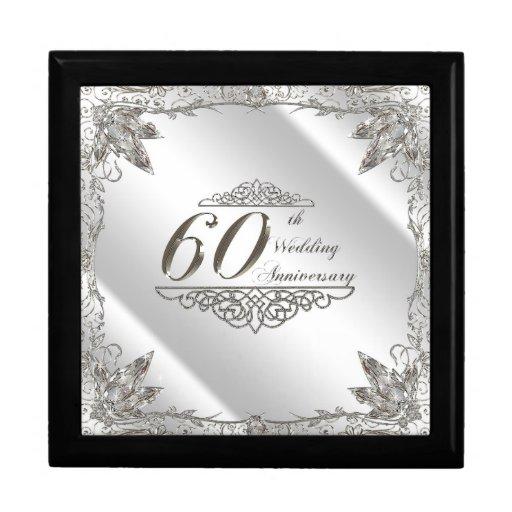 60th Wedding Anniversary Gift Box Zazzle