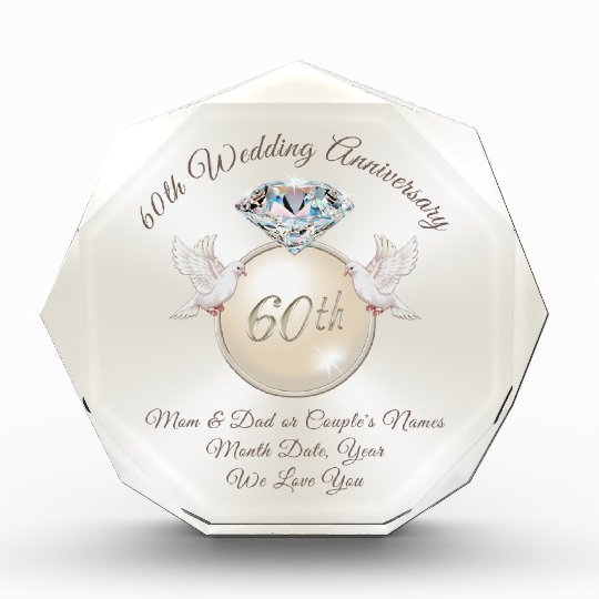 Wedding Aniversary Gift Ideas: 60th Wedding Anniversary Gift Ideas For Parents