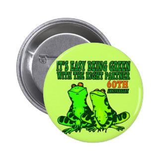 60th Wedding Anniversary Gifts Button