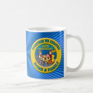 60th Wedding Anniversary Gifts Classic White Coffee Mug