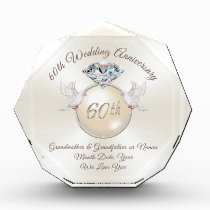 60th Wedding Anniversary Gifts for Grandparents