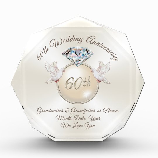60th Wedding Anniversary Gifts for