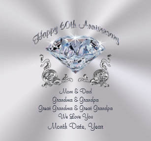 60th Wedding Anniversary Gifts For Mom And Dad