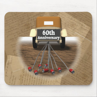 60th Wedding Anniversary Gifts Mouse Pad